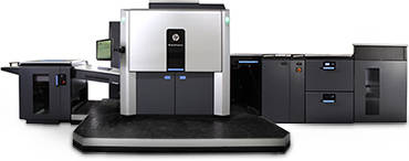 HP Indigo commercial digital printer