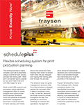 Commercial Printer Production Scheduling Solution